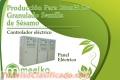 Meelko Producción Para 2tonH De Granulado Semilla de Sésamo