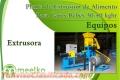 Meelko Planta de Extrusión de Alimento Para Gatos Bebés 30-40 kghr
