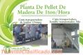 Meelko Planta De Pellet De Madera De 1ton/Hora