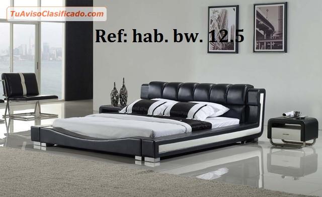 Juego de habitacion moderno modelo s110h10 mobiliario y - Juego de habitacion ...