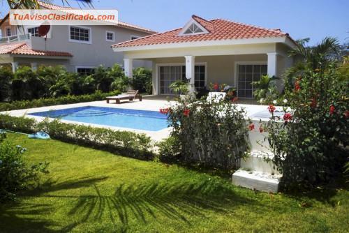 Villas en residencial hotelero de playa y golf playa nueva for Villas romanas