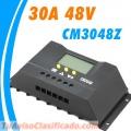 Controlador de carga chino de 30a 48 v