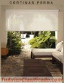 Cortinas Permas, Roller Screen  y Black Out, Paneles Deslizantes, Romanas, Decoracion