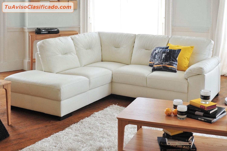 Moderno sofa seccional hermosa combinacion mobiliario y for Modelos de muebles para sala