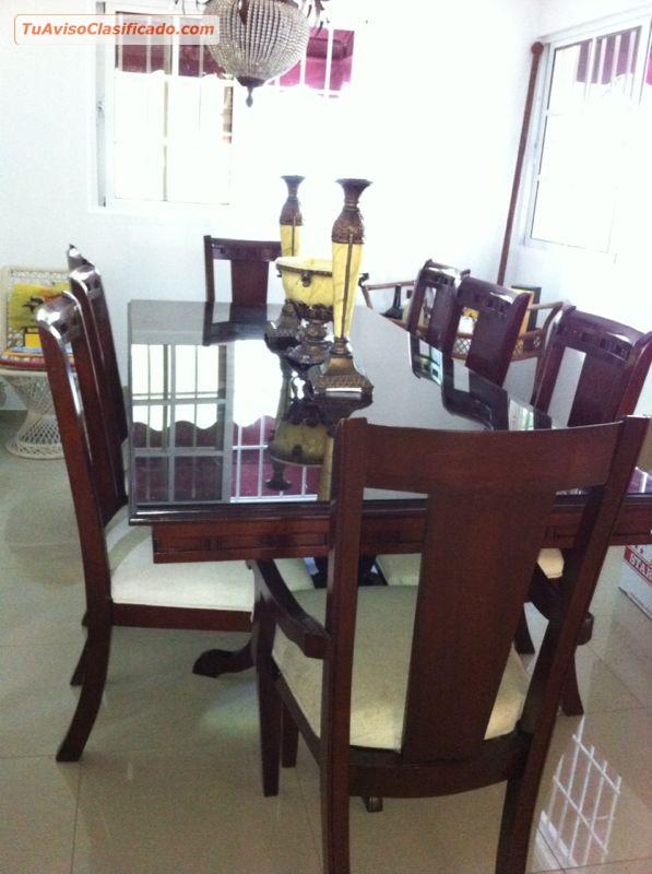 Mobiliario y equipamiento en tuavisoclasificado juego de comedor en caoba de ocho sillas thecheapjerseys Choice Image